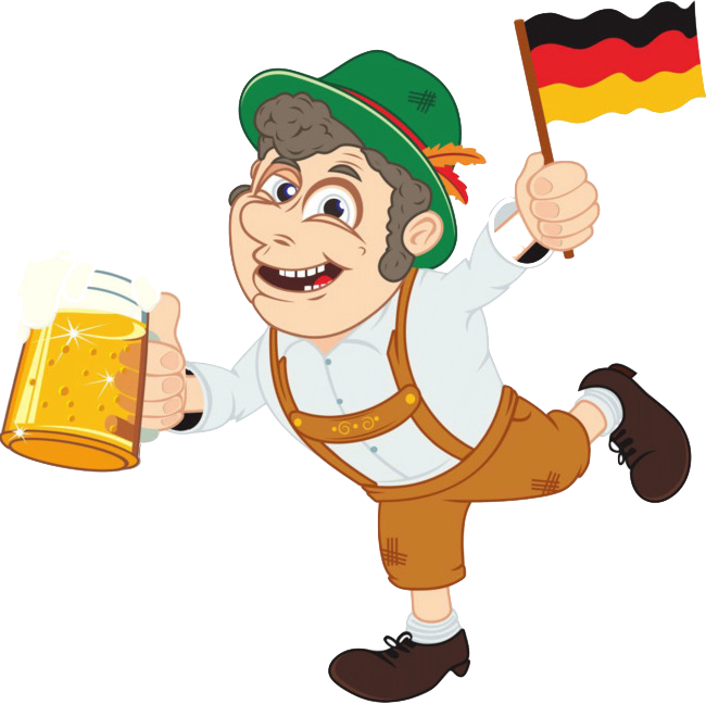 Cartoon German